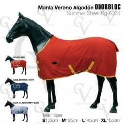 MANTA VERANO ALGODON ODORBLOC