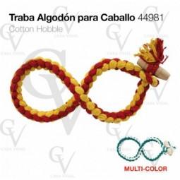 TRABA DE ALGODON PARA CABALLO